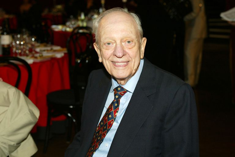 Actor Don Knotts poses during the TV Land Awards 2003 at the Hollywood Palladium on March 2, 2003 in Hollywood, California