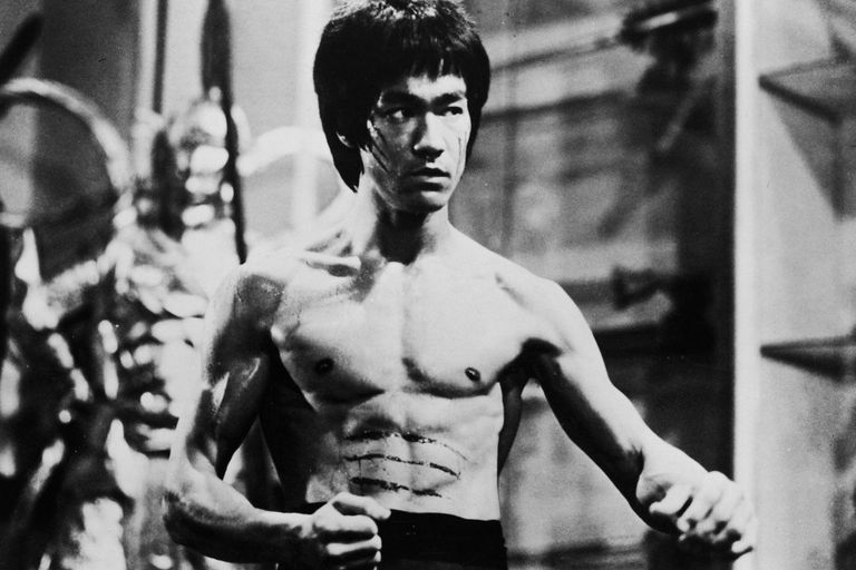 Classic photo of Bruce Lee