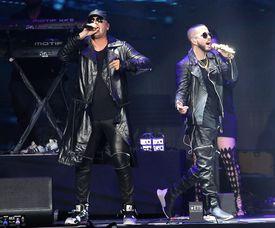 Wisin Y Yandel perform onstage during CALIBASH 2019 - Night 1 held at Staples Center in Los Angeles