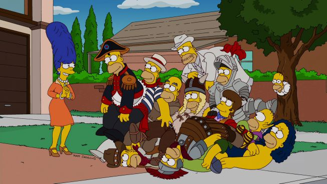 Pile of Homers - Treehouse of Horror XXIII