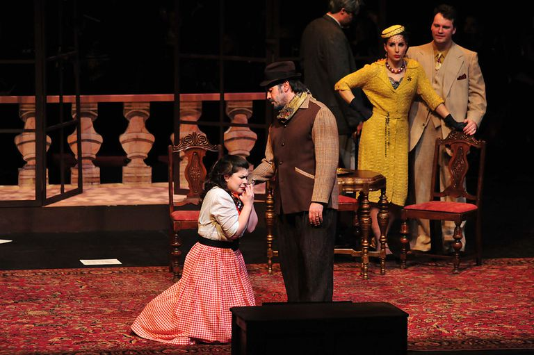 Gianni Schicchi Opera Performance