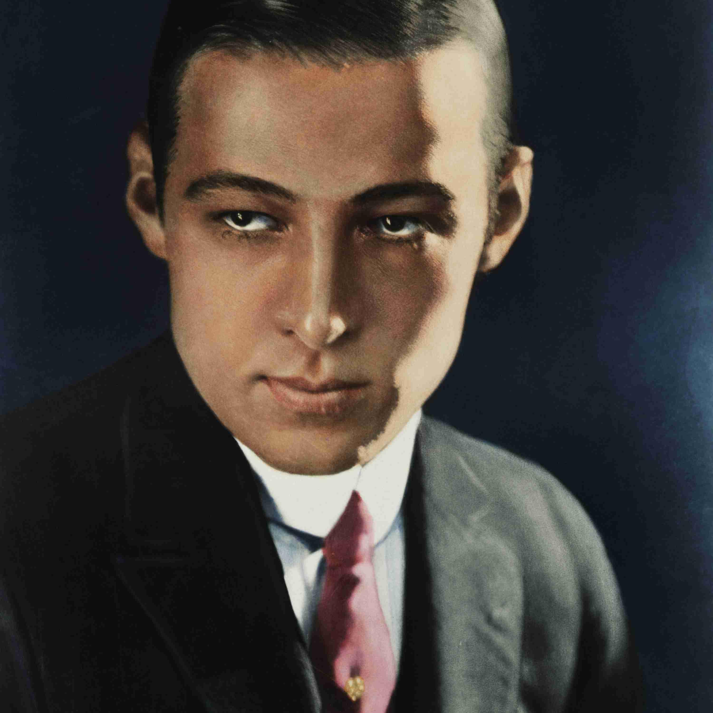 Portrait of Rudolph Valentino