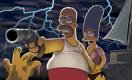 Master and Cadaver - Treehouse of Horror XXI - The Simpsons