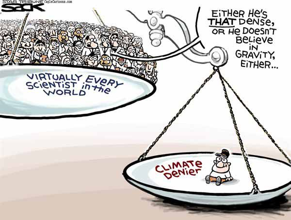 Global Warming Political Cartoons