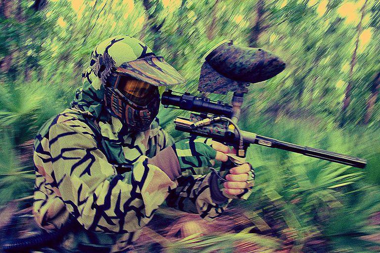Paintball Gun Versus Marker
