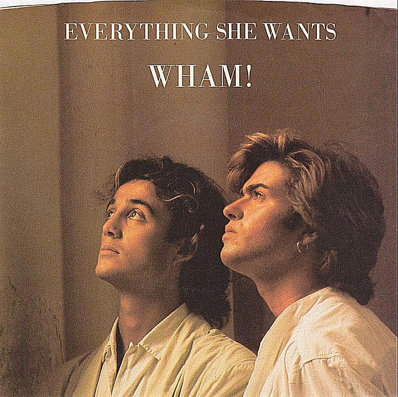 This sparkling single from Wham! - from 1984's top-selling 'Make It Big' - is an early example of George Michael's towering pop music prowess. Single cover
