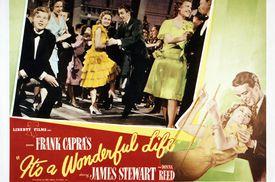 A poster for Frank Capra's 1946 comedy-drama