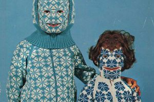 knitted face masks