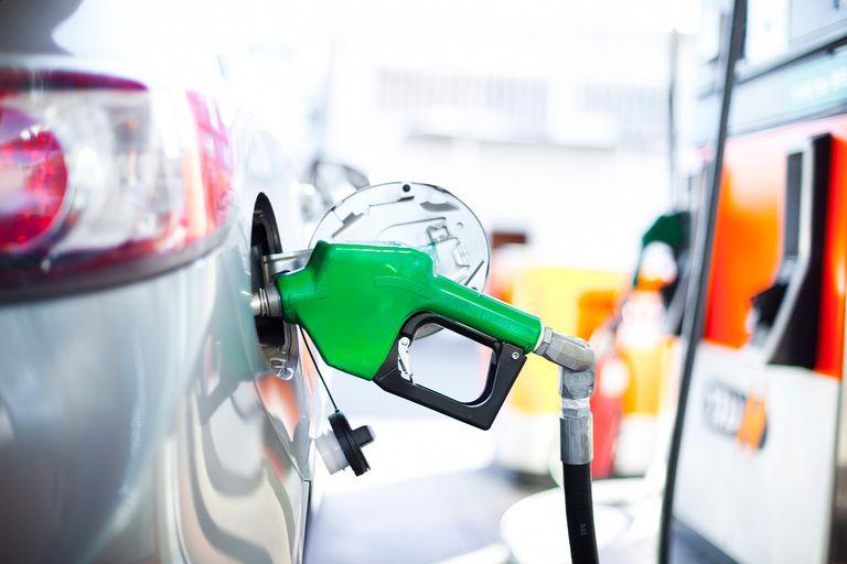 Pumping diesel gas