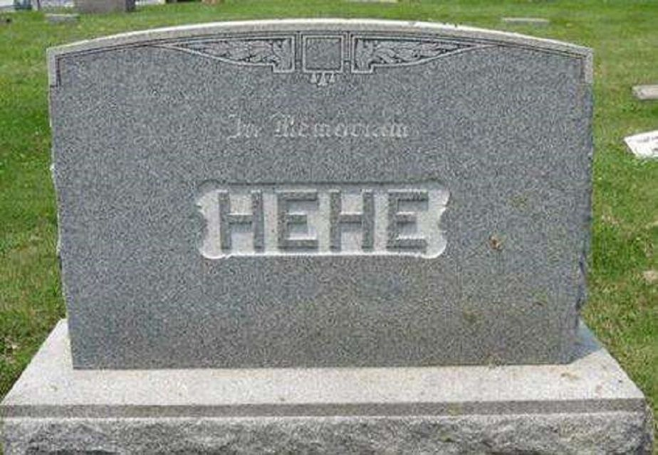 23 Funny Tombstones That Actually Exist
