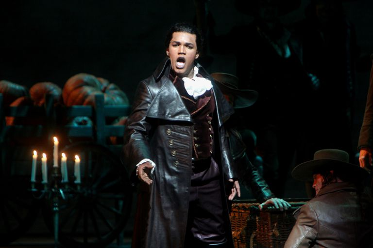 The tenor Lawrence Brownlee in 'The Barber of Seville' at the Metropolitan Opera House