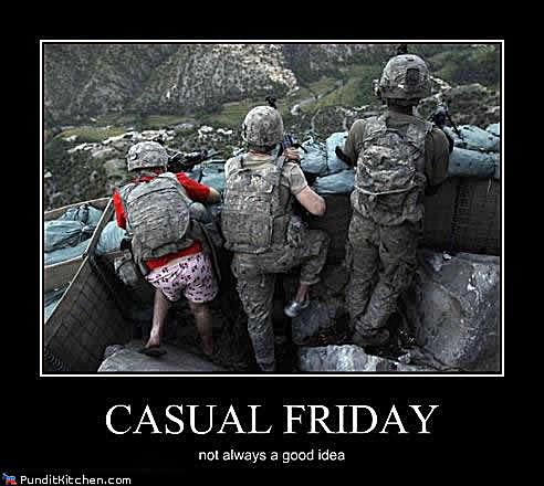 military casual friday meme
