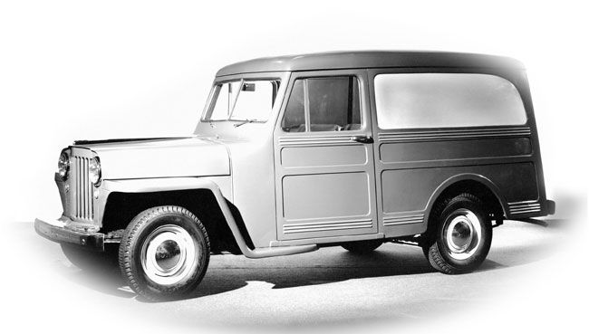1946 Jeep Panel Delivery Van