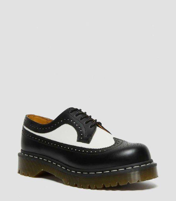 Dr. Martens platform spectator shoe