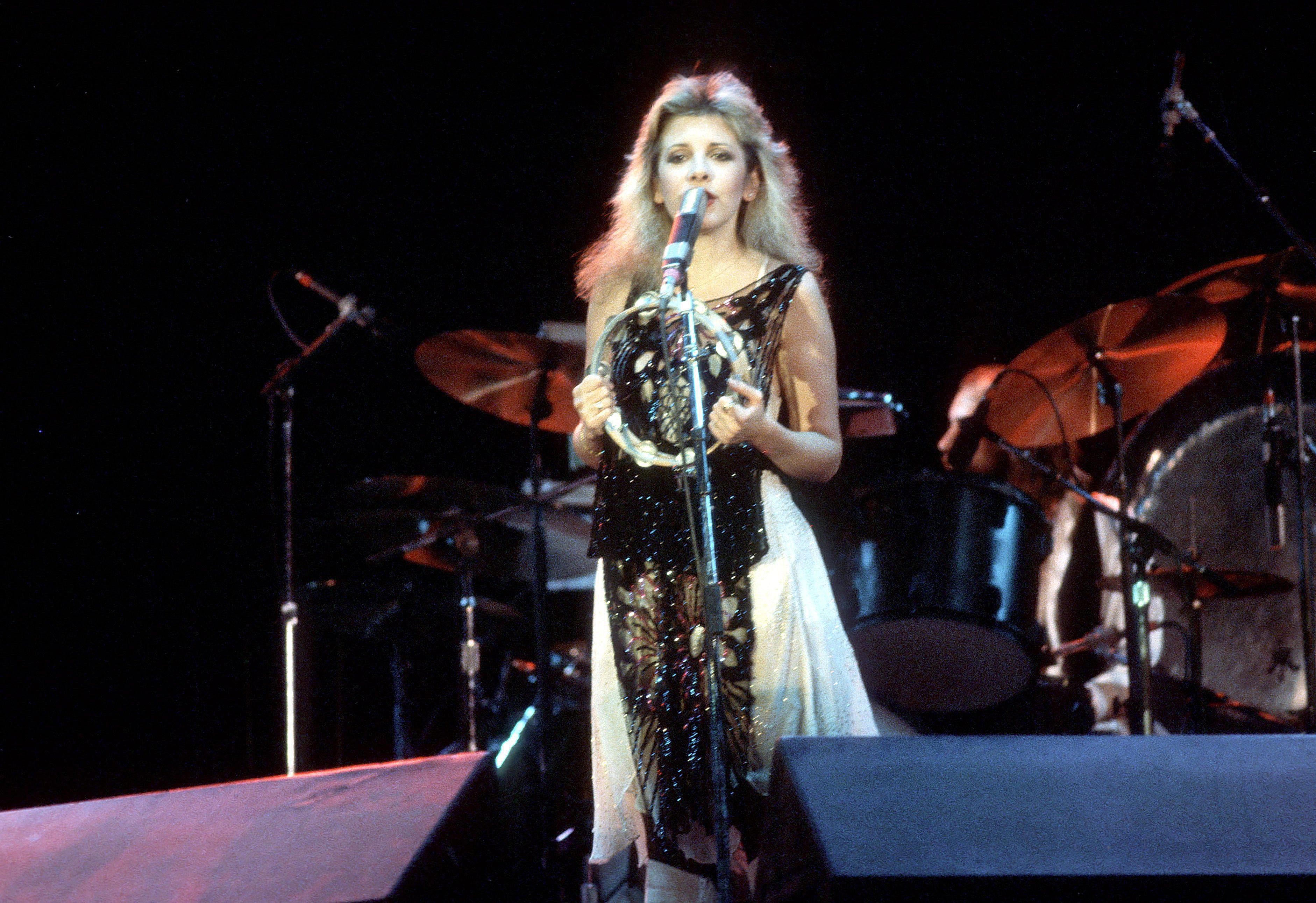 Stevie Nicks performs live in 1981