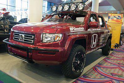 Custom Honda Ridgeline Pickup Trucks At The Sema Show