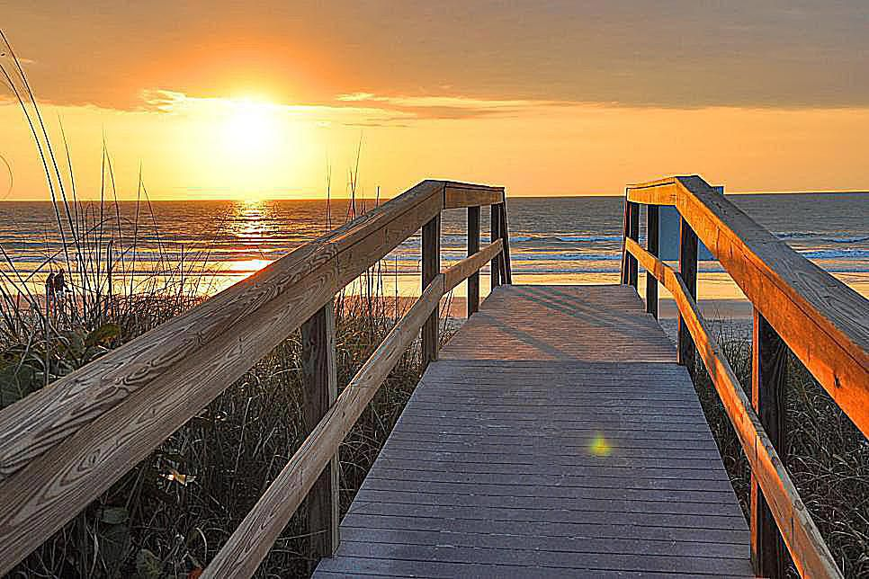 The Beach at Merritt Island, Florida