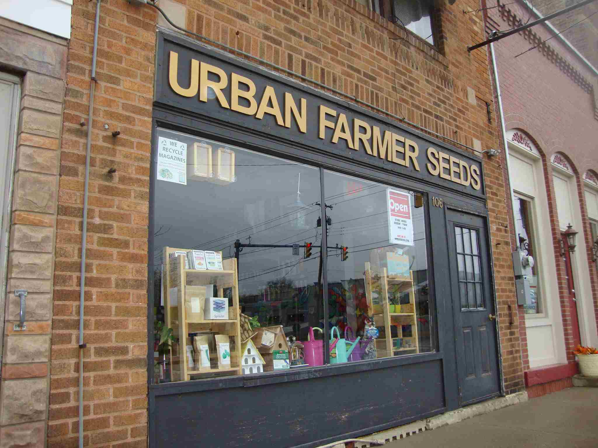 The Urban Farmer Seeds storefront