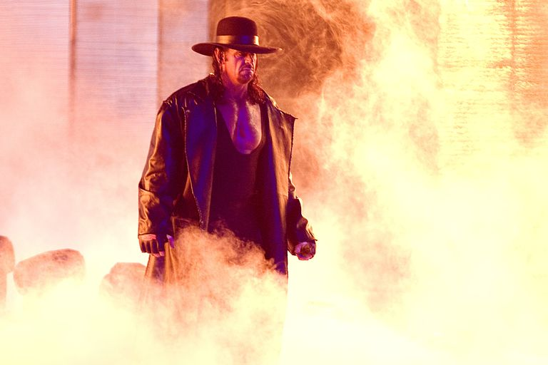 Undertaker's ring entrance at the 25th Anniversary of WrestleMania.