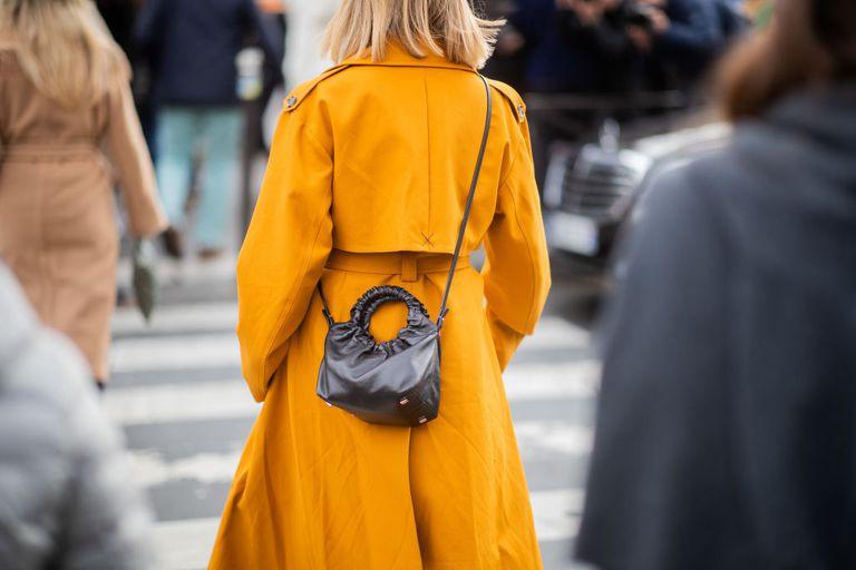 woman walking confidently