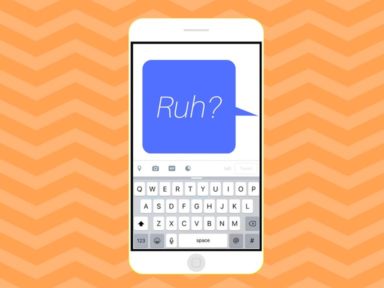 Illustration of RUH on a phone