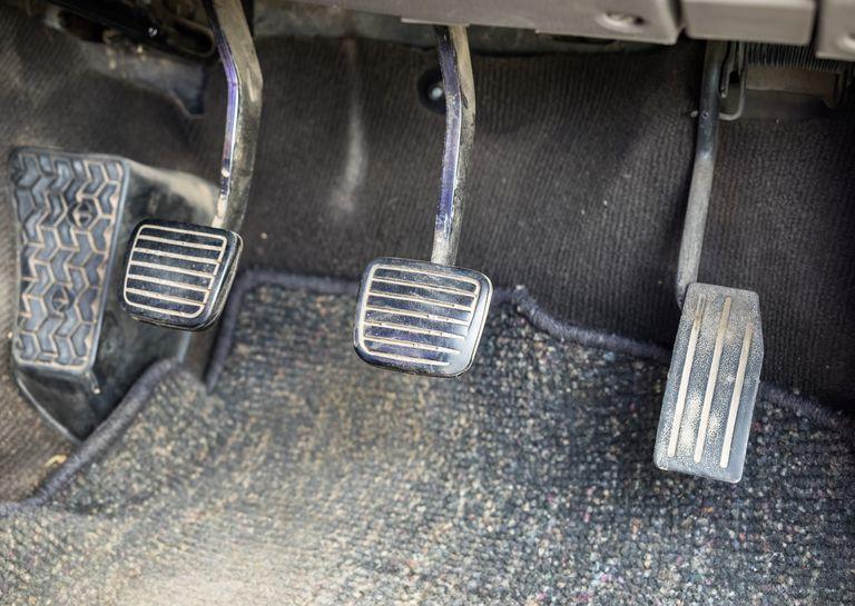 Control pedel brake clutch