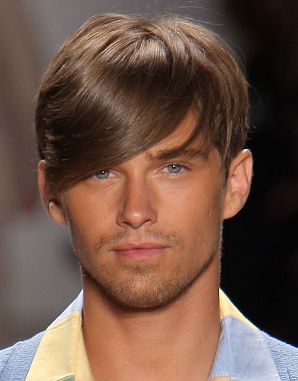 picture gallery of men's hairstyles  medium length