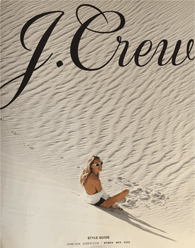Picture of the cover of a J. Crew catalog