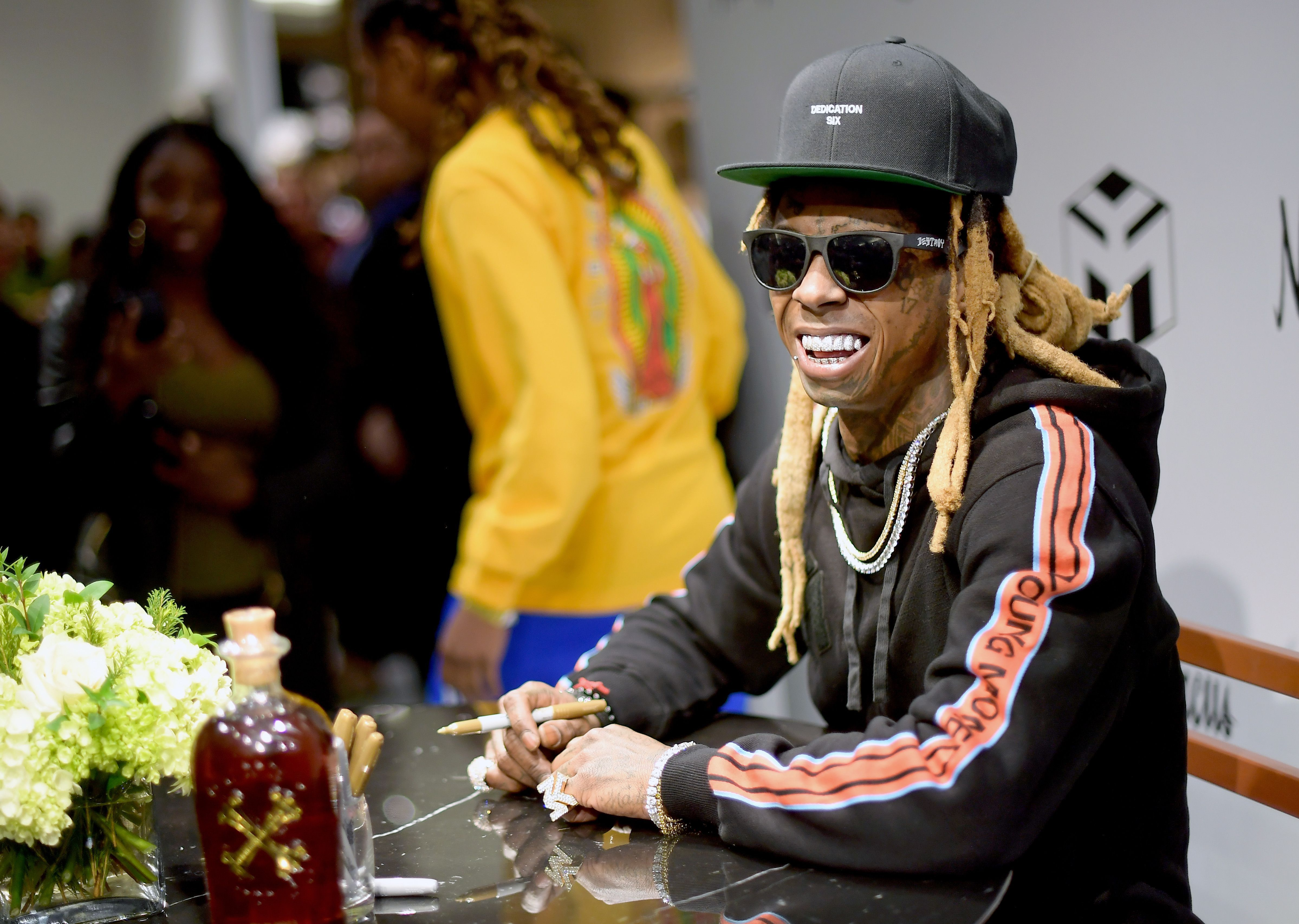 Lil Wayne at Neiman Marcus Beverly Hills x Young Money Launch