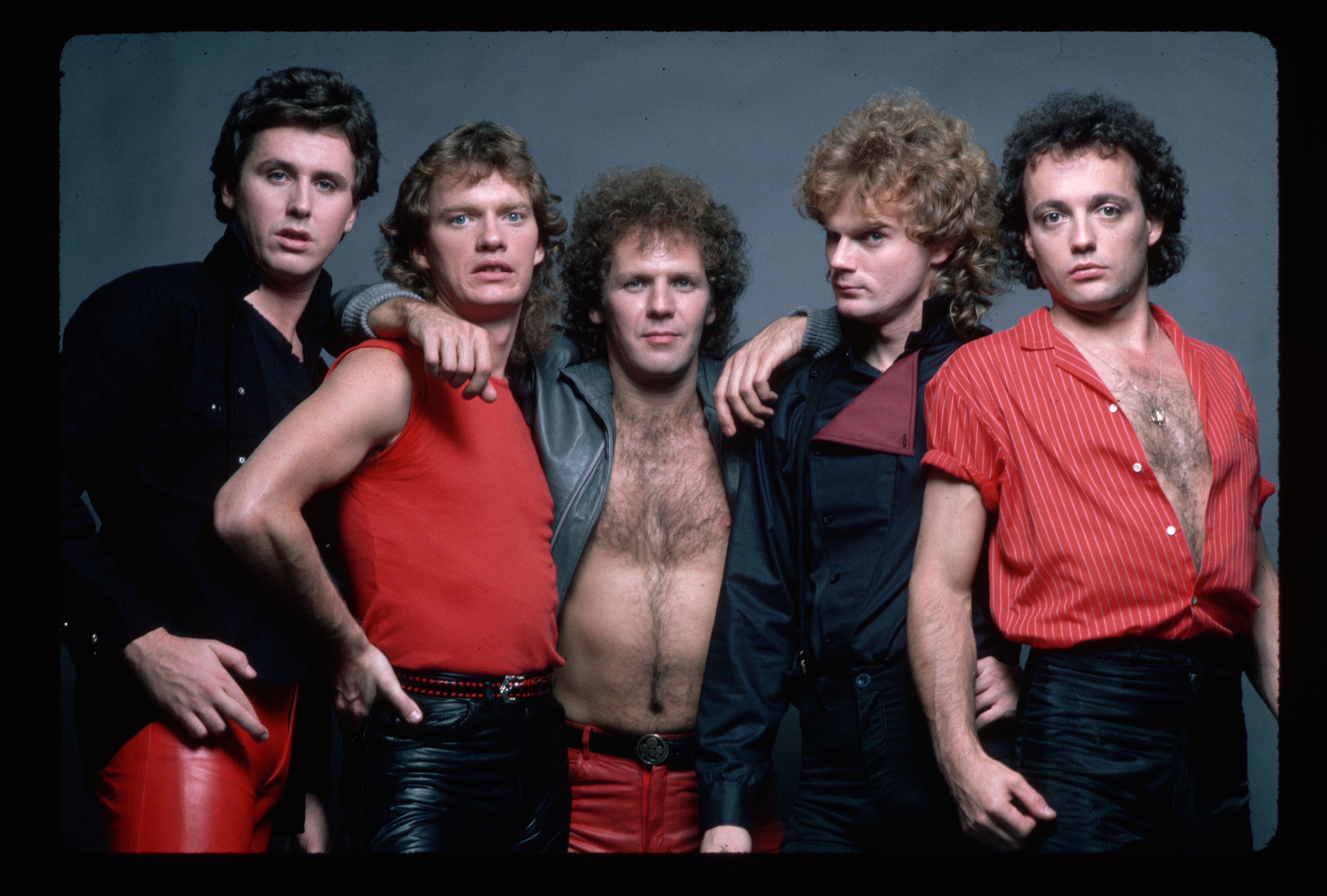Canadian Rock Group Loverboy