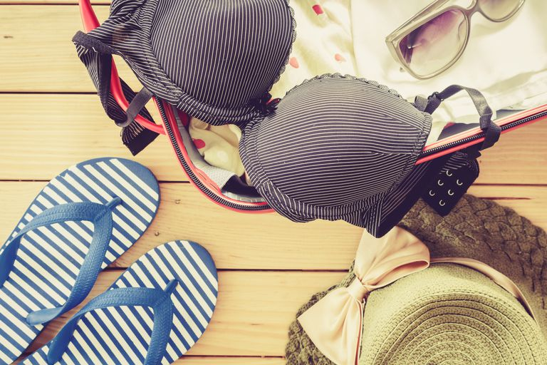 Travel and packing bras
