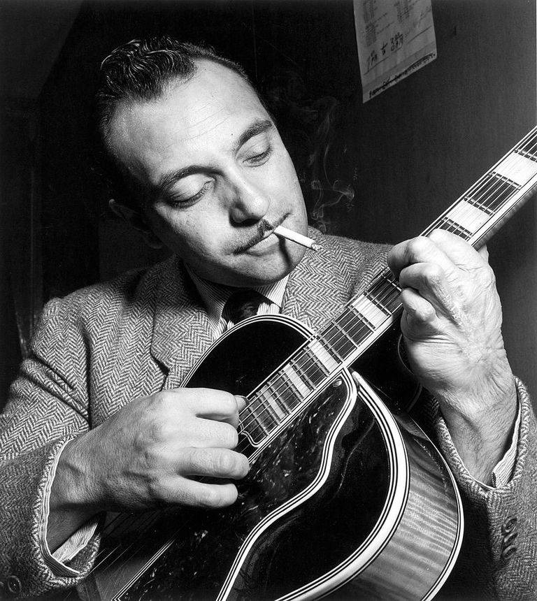 Photo of Django Reinhardt