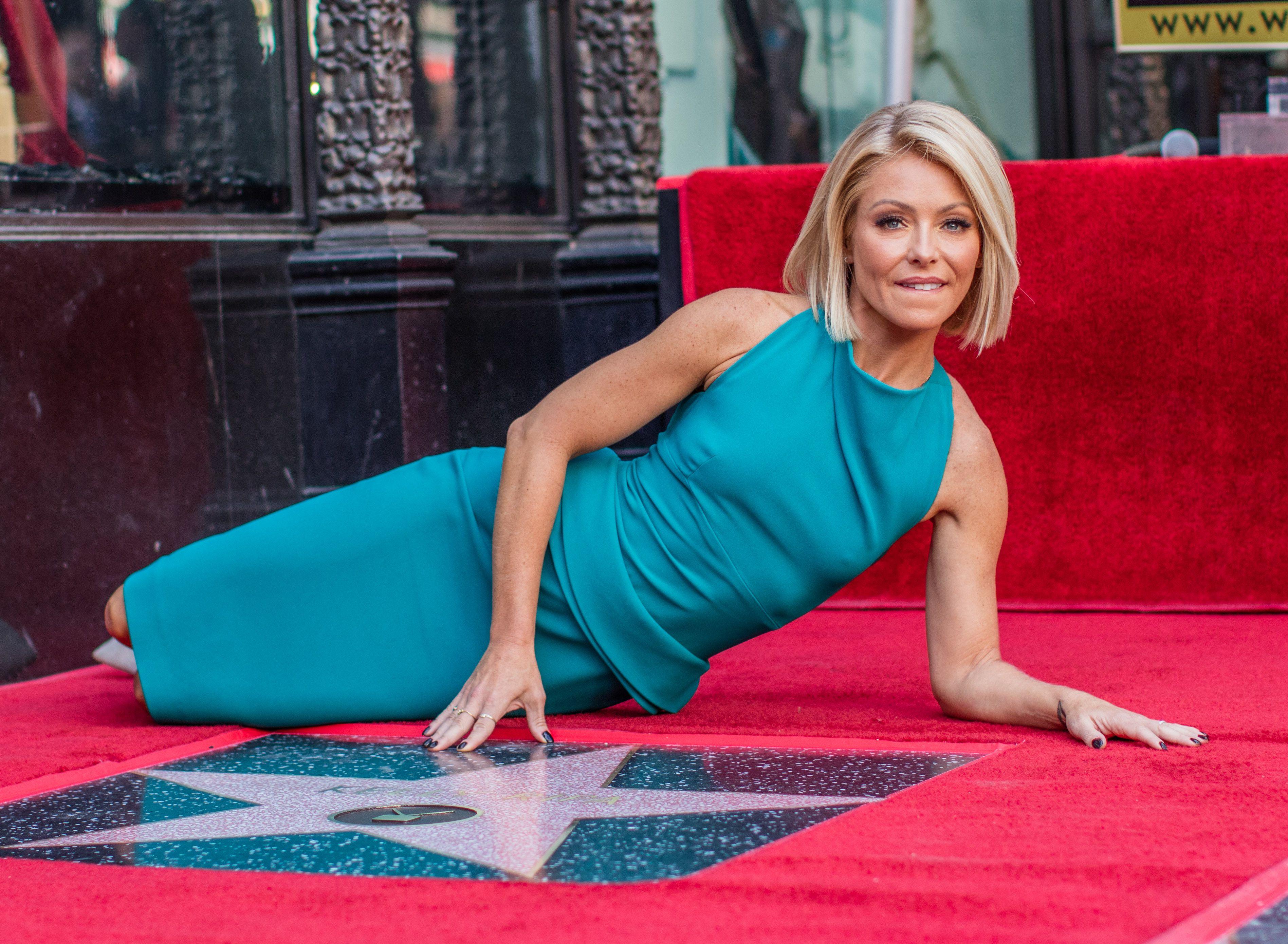 Talk show host Kelly Ripa