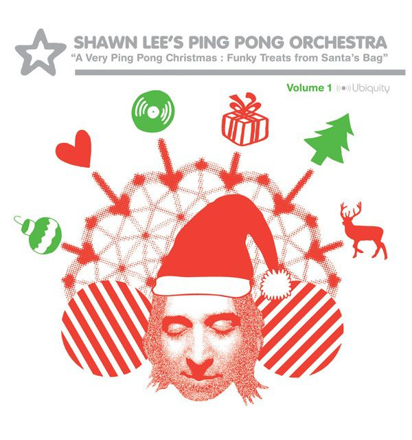 Shawn Lee's Ping Pong Orchestra Christmas album cover.