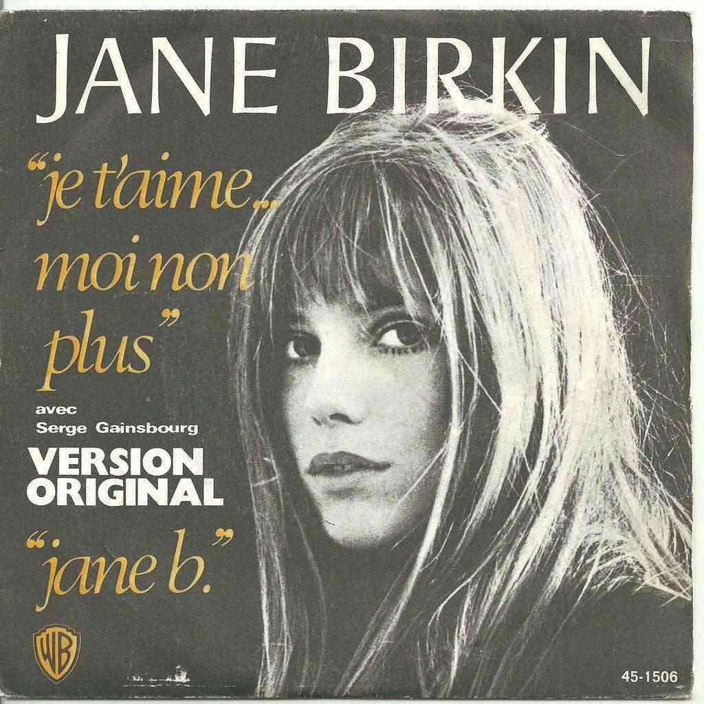 Jane Birkin and Serge Gainsbourg - Je t'aime..moi non plus