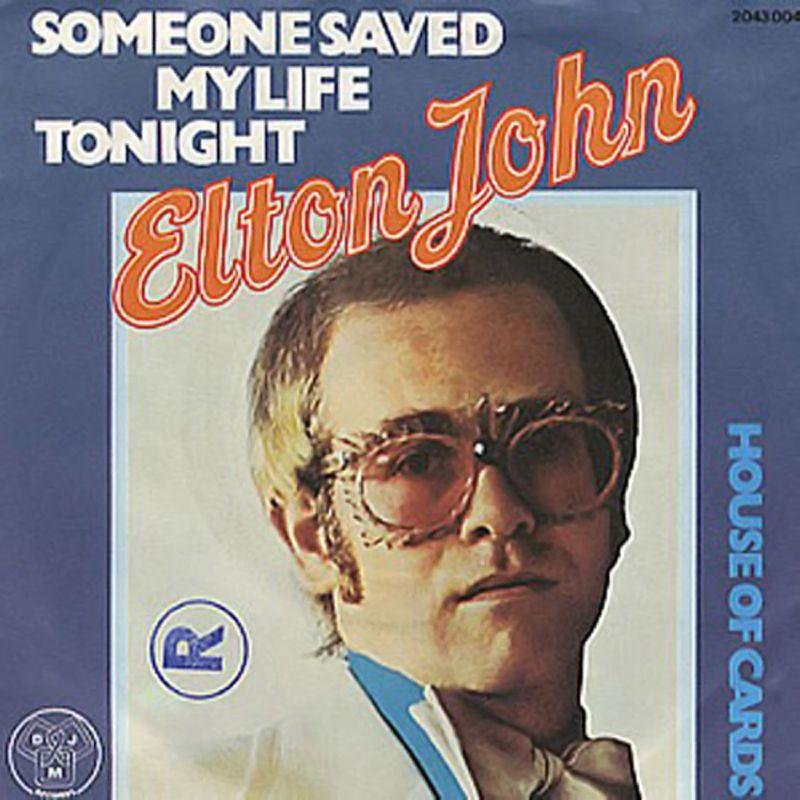 Elton John Someone Saved My Life Tonight