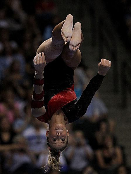 Shawn Johnson Gymnastics Photo - 2011 US Nationals