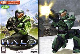 Halo: Combat Evolved box cover art
