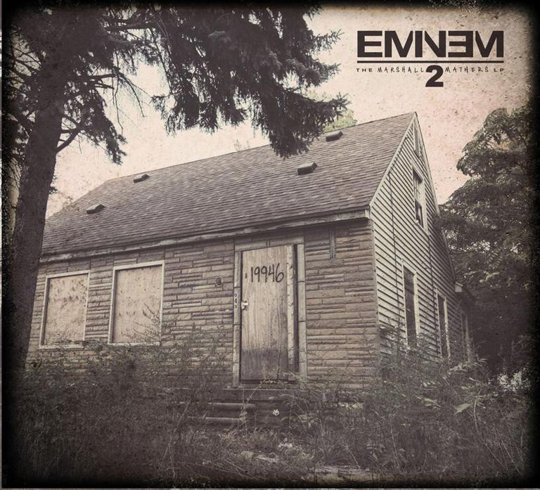 Marshall Mathers LP 2 Cover