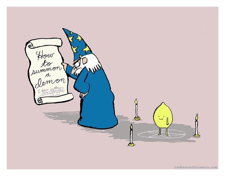 lemon demon comic