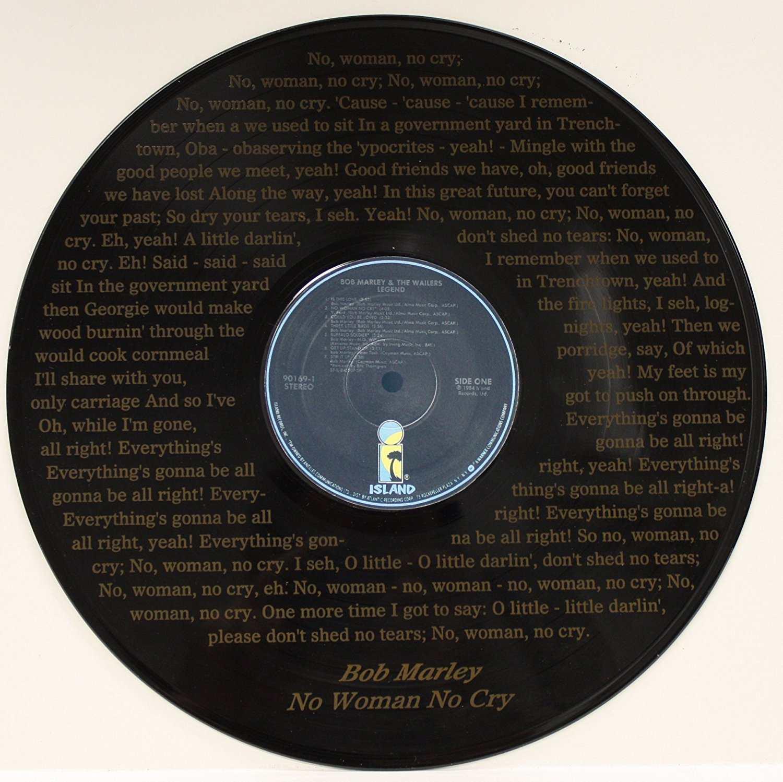 """No Woman No Cry"" Black Vinyl 12"" LP"