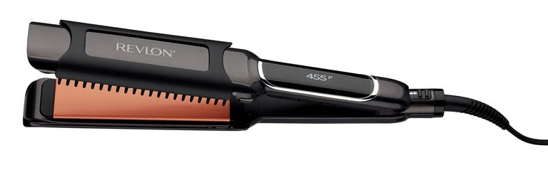 dab77a411f53 Revlon Salon Straightening and Curling Copper Flat Iron. Revlon. Having a  sleek styling tool to flatten hair can take ...