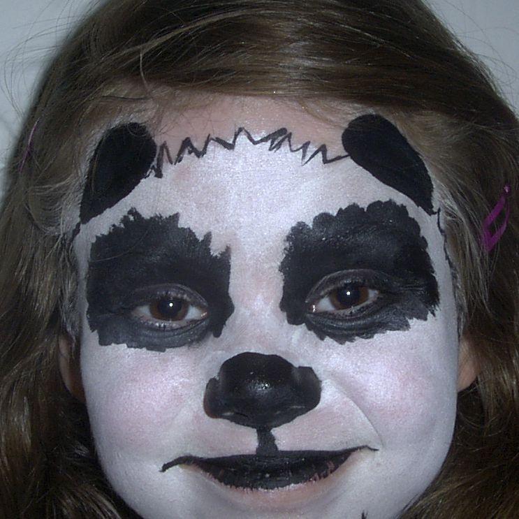Face Painting Designs -- Panda