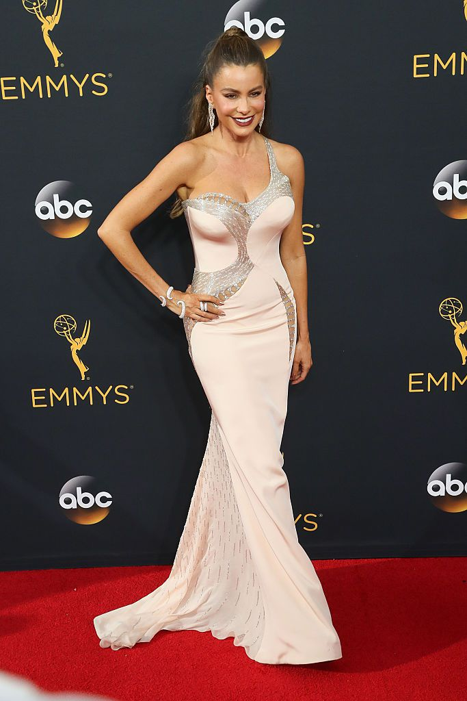 Actress Sofa Vergara arrives at the 68th Annual Primetime Emmy Awards at the Microsoft Theater on September 18, 2016 in Los Angeles, California.