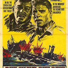 """""""Run Silent, Run Deep"""" film poster"""