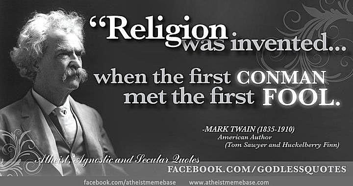 Meme: with Mark Twain quote