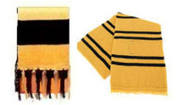 How To Crochet Your Own Hufflepuff Scarf