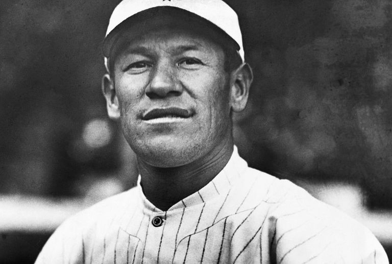 Portrait of Jim Thorpe