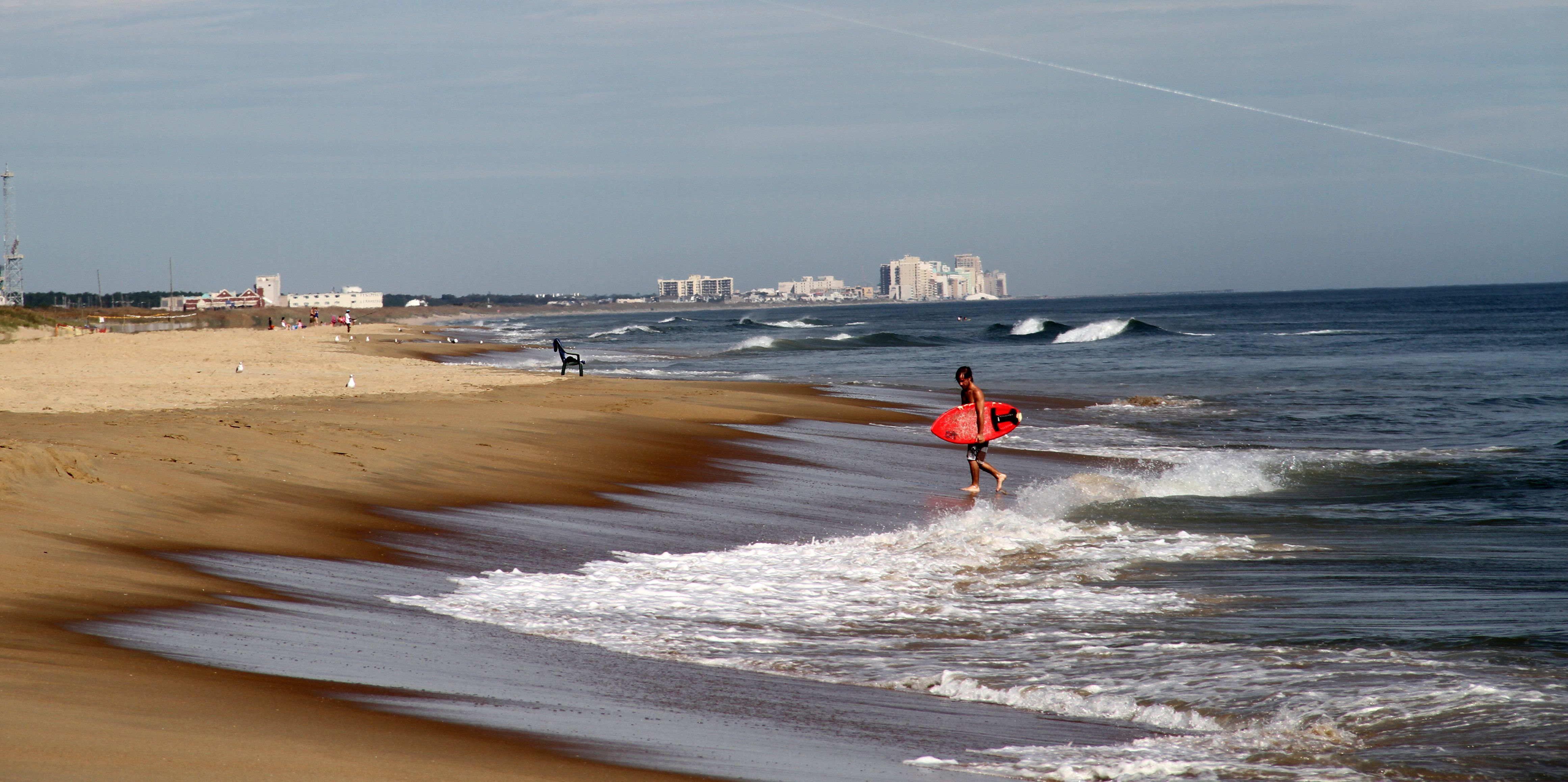 Beaches of Virginia Beach area