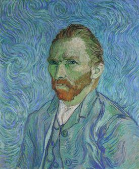 Vincent van Gogh self portrait by the artist